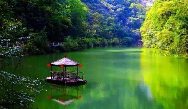 陕西省商洛市金丝峡景区